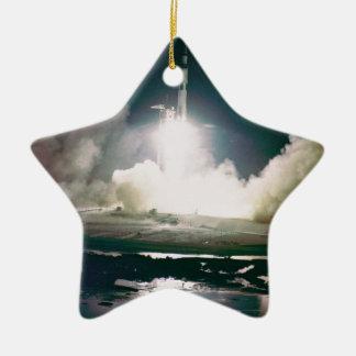 Apollo 17 Lift Off Christmas Ornament