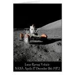 Apollo 17 Lunar Vehicle Greeting Cards