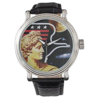 Apollo 17 NASA Mission Patch Logo Wrist Watch