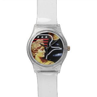Apollo 17 NASA Mission Patch Logo Wristwatch