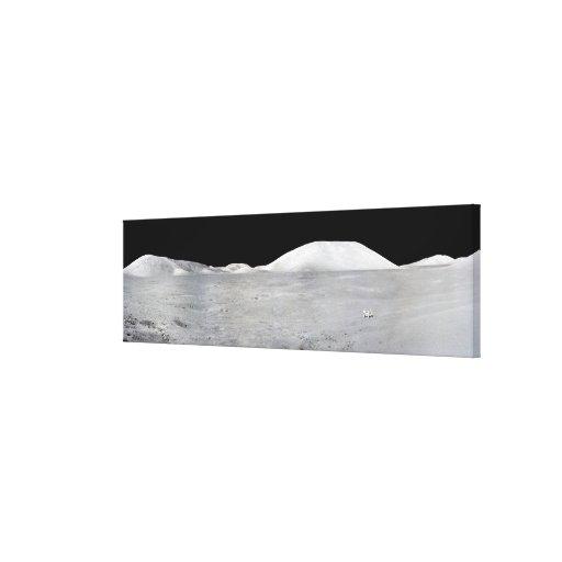 Apollo 17 Panorama Canvas Prints