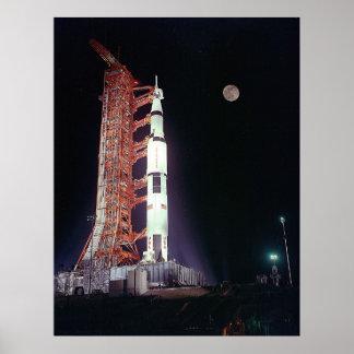 Apollo 17 Pre-Launch Poster