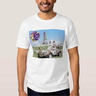 Apollo 17 Prime Crew Tee Shirts