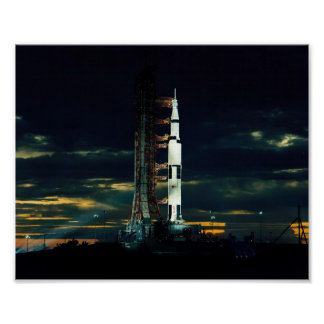 Apollo 17 Ready for Launch Poster