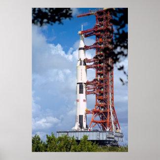 Apollo 17 Rollout Poster
