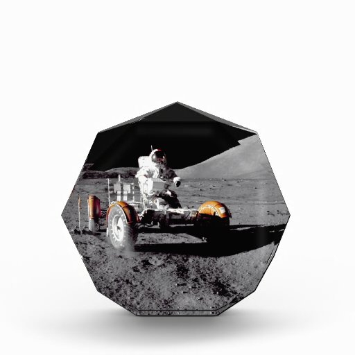 Apollo 17 Rover Acrylic Award