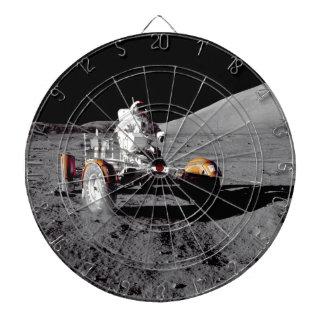 Apollo 17 Rover Dartboard With Darts