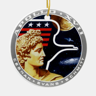 Apollo 17 The Final Hurrah Christmas Ornaments