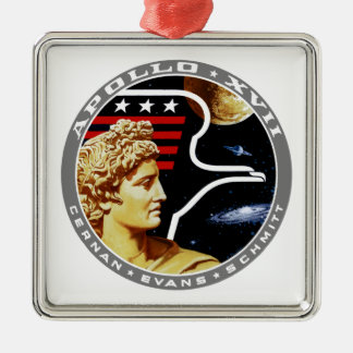Apollo 17 The Final Hurrah Christmas Ornament