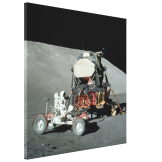 Apollo 17 - The Final Manned Moon Landing Canvas Print