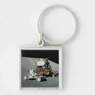 Apollo 17 - The Final Manned Moon Landing Keychain