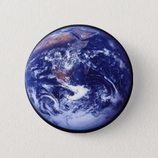 Apollo 17 view of Earth in space Pinback Button