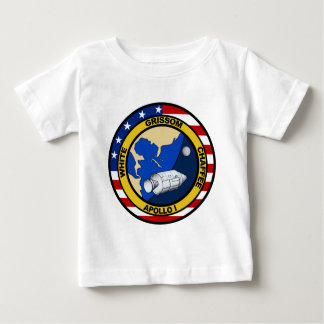 Apollo 1: Grissom, White and chaffee. Baby T-Shirt
