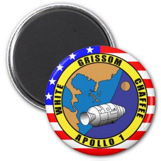 Apollo 1 fridge magnet