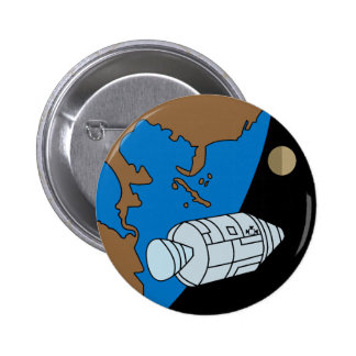Apollo 1 Mission Patch Pinback Buttons