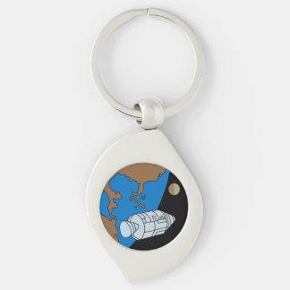 Apollo 1 Mission Patch Logo Keychain