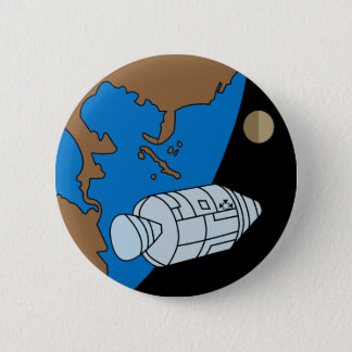 Apollo 1 Mission Patch Logo Pinback Button