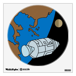 Apollo 1 Mission Patch Logo Wall Sticker