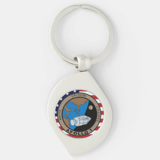 Apollo 1 Mission Patch Key Chains