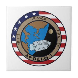Apollo 1 Mission Patch Tiles