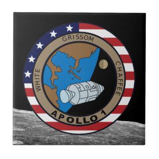 Apollo 1 tile