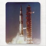 Apollo 4 Launch Mousepad