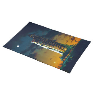 Apollo 4 Saturn V on Pad A Launch Complex 39 Cloth Placemat