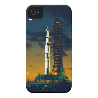 Apollo 4 Saturn V on Pad A Launch Complex 39 iPhone 4 Case