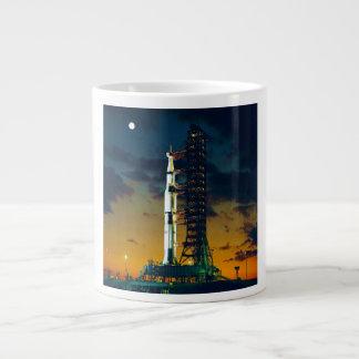Apollo 4 Saturn V on Pad A Launch Complex 39 Large Coffee Mug