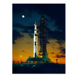 Apollo 4 Saturn V on Pad A Launch Complex 39 Postcard