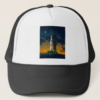 Apollo 4 Saturn V on Pad A Launch Complex 39 Trucker Hat