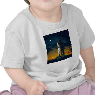 Apollo 4 Saturn V on Pad A Launch Complex 39 Tees