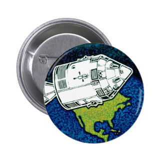 Apollo 7 Mission Patch Button