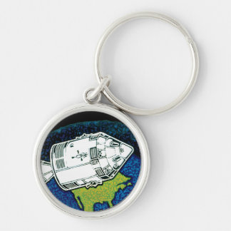 Apollo 7 Mission Patch Keychains
