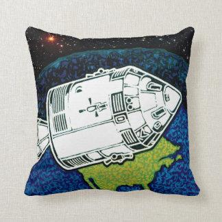 Apollo 7 Mission Patch Throw Pillow