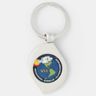 Apollo 7 NASA Mission Patch Logo Keychain