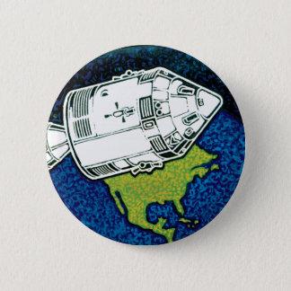 Apollo 7 NASA Mission Patch Logo Pinback Button
