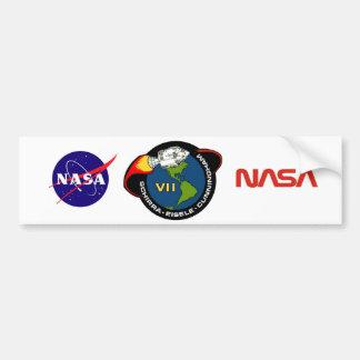 Apollo 7: Schirra, Eisele & Cunningham Car Bumper Sticker