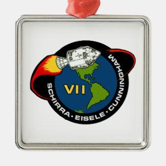 Apollo 7 Schirra Eisele Cunningham Ornaments