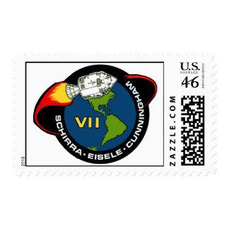 Apollo 7 Schirra Eisele Cunningham Postage Stamps