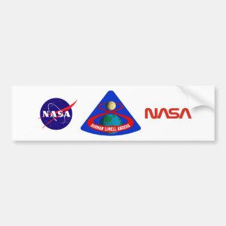Apollo 8:  First Men To The Moon! Car Bumper Sticker