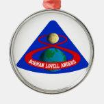 Apollo 8:  First Men To The Moon! Metal Ornament