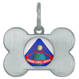 Apollo 8:  First Men To The Moon! Pet ID Tag