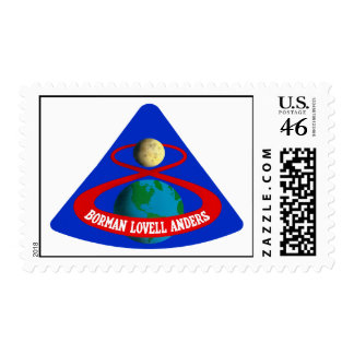Apollo 8 First Men To The Moon Postage Stamps