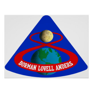 Apollo 8:  First Men To The Moon! Poster