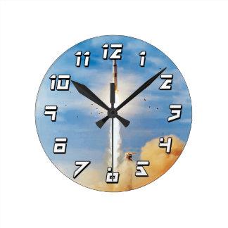 Apollo 8 Launch Round Clock