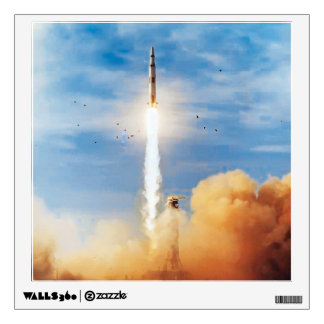 Apollo 8 Launch Wall Decal