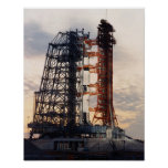 Apollo 8 on the Launch Pad Poster