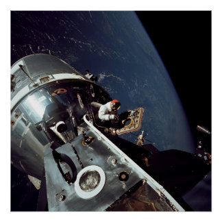 Apollo 9 Command Module docked with Lunar Module Print