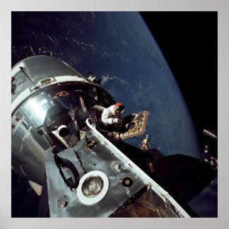 Apollo 9 Command Module docked with Lunar Module Print